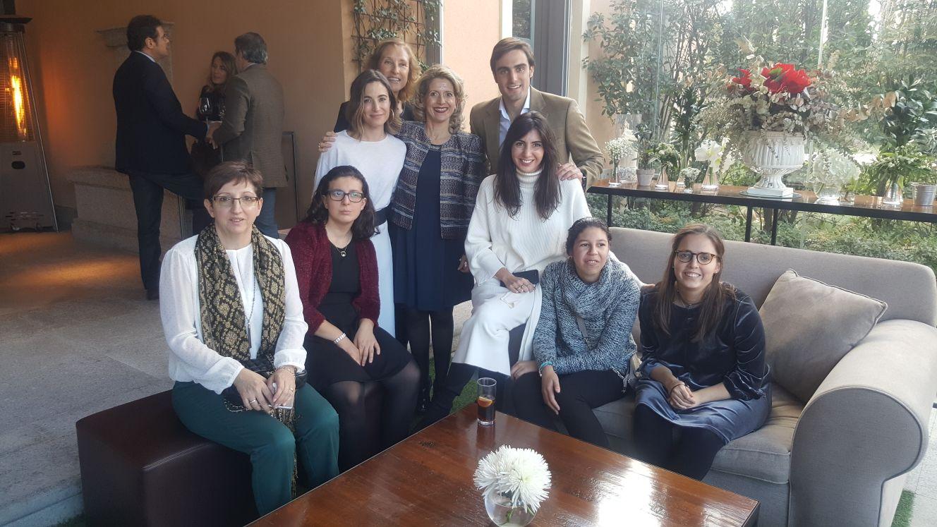 Acto de entrega del tercer Premio Marisol de Torres