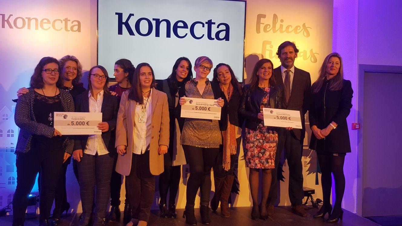 El proyecto de Fundación Oxiria premiado en la VIII Convocatoria Interna de Proyectos Sociales de la Fundación Konecta